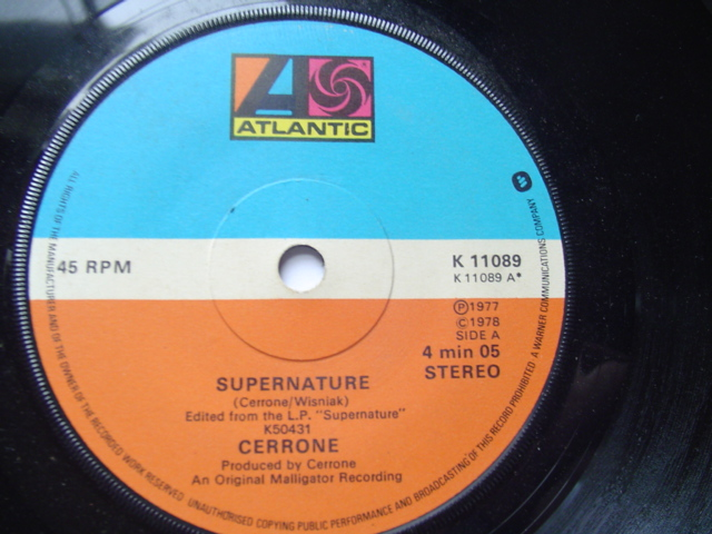 CERRONE - SUPERNATURE - ATLANTIC 1978