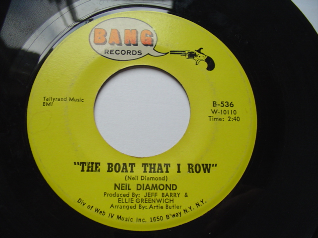 NEIL DIAMOND - I GOT THE FEELIN' - BANG