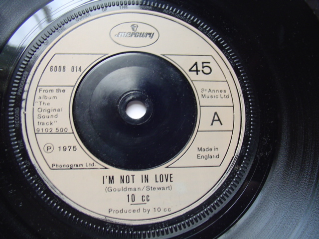 10 CC - I'M NOT IN LOVE - MERCURY 1975