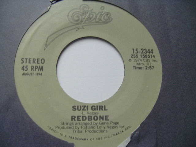 REDBONE - COME ABND GET YOUR LOVE - EPIC 1973