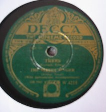 The Street Singer - Marta - Decca Irish Pressing