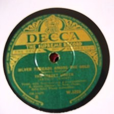 The Street Singer - Silver Threads among the Gold - Decca Irish