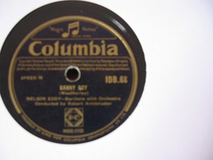 Nelson Eddy - Danny Boy - Columbia Irish Pressing