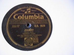 Frankie Laine - Jealousy - Columbia DB.2970 UK