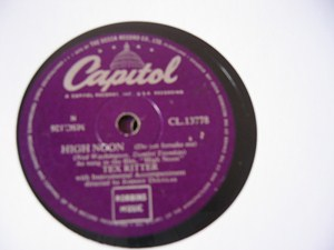 Tex Ritter - High Noon - Capitol UK