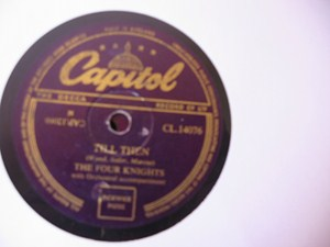 The Four Knights - I get so Lonely - Capitol UK