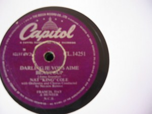 Nat King Cole - The Sand & The Sea - Capitol UK