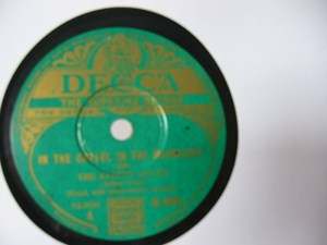The Street Singer - I dream of San Marino - Decca Irish