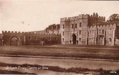 Clacton on Sea - St. Oysth Priory - Real Photo