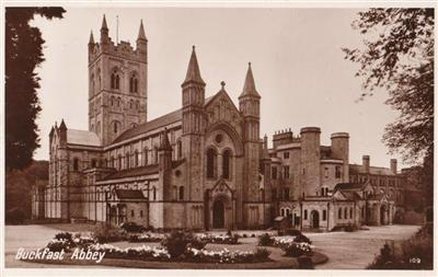 Buckfast Abbey - Real Photo