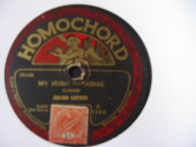 Juilia Lester / Harry Thomas - Homochord 1364 UK