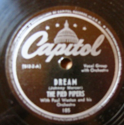 The Pied Pipers - Tabby The Cat / Dream - Capitol USA