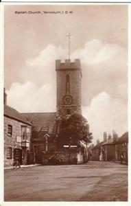 Isle of Wight - Parish Church Yarmouth - Real Photo