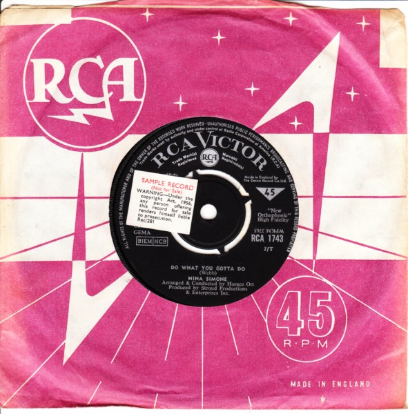 Nina Simone - Aint got no - I got life - NORTHERN - RCA 3529
