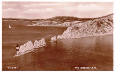 Isle of Wight - The Needles - Real Photo