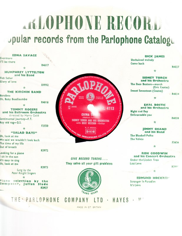 Sidney Torch - China Boogie - Parlophone R. 4113