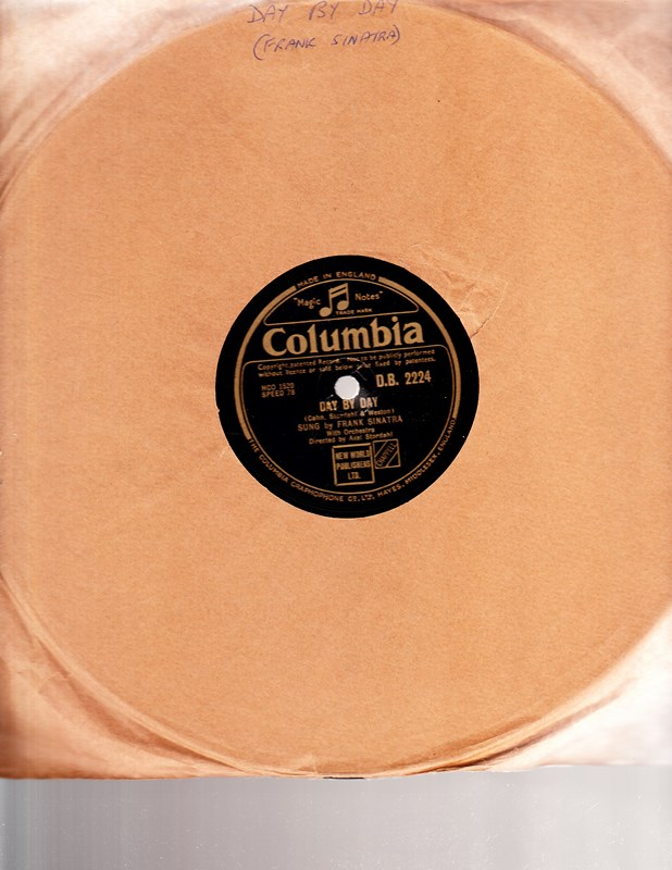 Frank Sinatra - Day by Day - Columbia D.B. 2224 UK