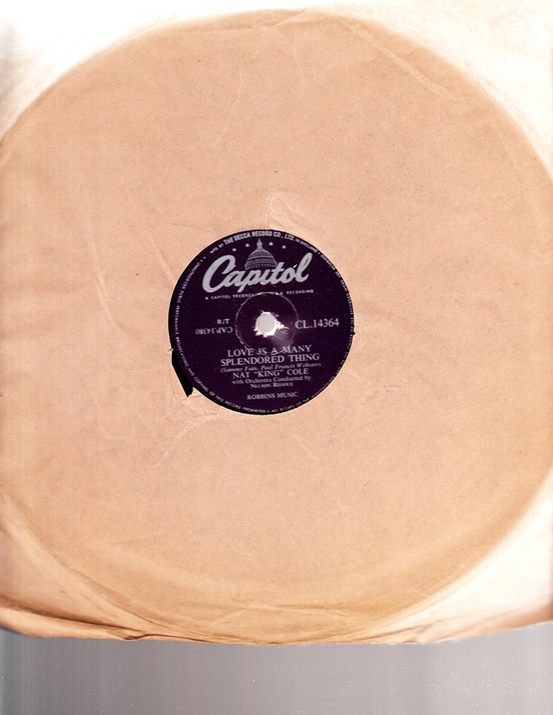 Nat King Cole - Autumn Leaves - Capitol CL 14364 UK