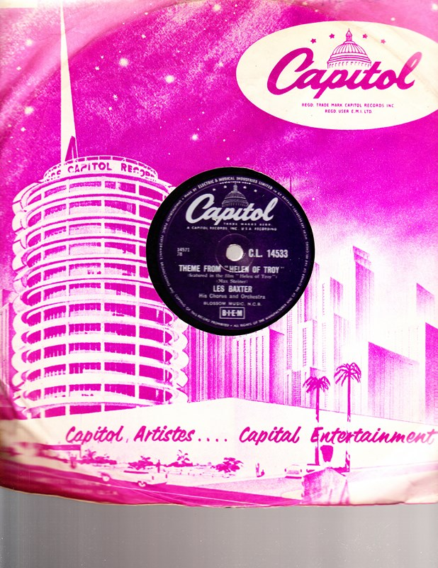 Les Baxter - Theme Helen of Troy - Capitol CL.14533