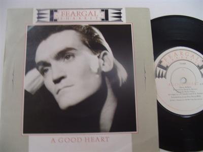 FERGAL SHARKEY - A GOOD HEART - VIRGIN { 1271