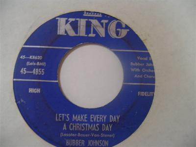 BUBBER JOHNSON - ITS CHRISTMAS TIME - KING { 2173