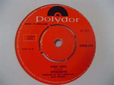 SPRINGWATER - STONE CROSS - POLYDOR { 2175