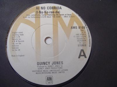 QUINCY JONES - AI NO CORRIDA - A & M { 2197