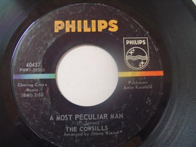 THE COWSILLS - MOST PECULIAR MAN - PHILLIPS { 2207