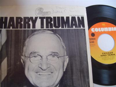 CHICAGO - HARRY TRUMAN - COLUMBIA { 2214