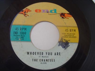 THE CHANTELS - WHOEVER YOU ARE - END { 2215