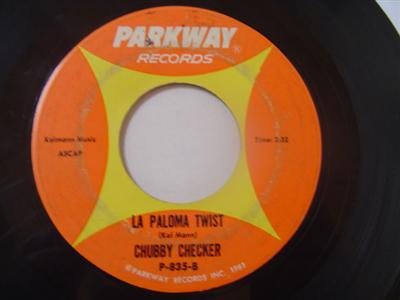 CHUBBY CHECKER - SLOW TWISTIN' - PARKWAY { 2220