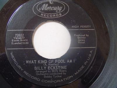 BILLY ECKSTINE - TILL THERE WAS YOU - MERCURY { 2222