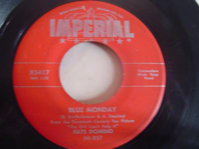 FATS DOMINO - BLUE MONDAY - IMPERIAL { 2156