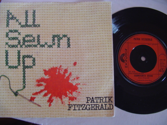 PATRIK FITZGERALD - ALL SEWN UP - SMALL WONDER