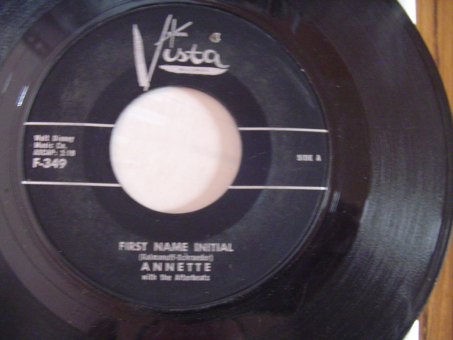 ANNETTE - FIRST NAME INITIAL - BUENA VISTA