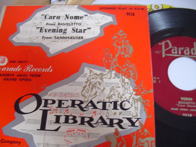 EP STATE OPERA COMPANY - CARO NOME & EVENING STAR