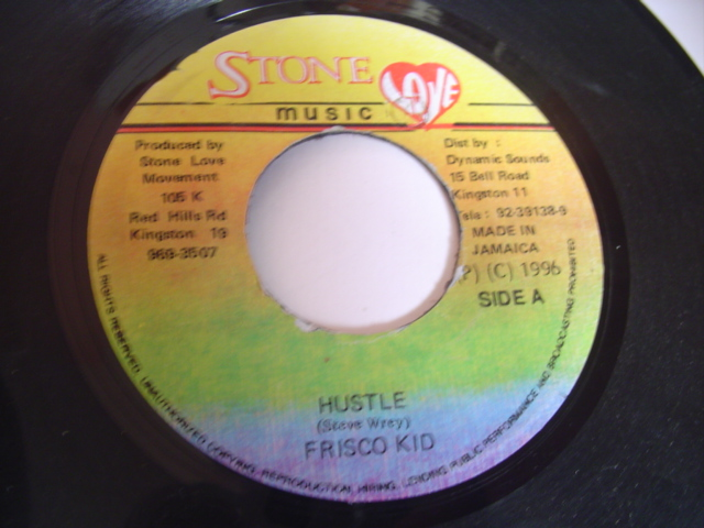 FRISCO KID - HUSTLE & OWEN REYNOLDS / W POWELL - STONE