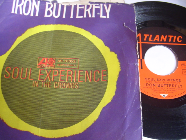 IRON BUTTERFLY - SOUL EXPERIENCE - ATLANTIC GERMANY