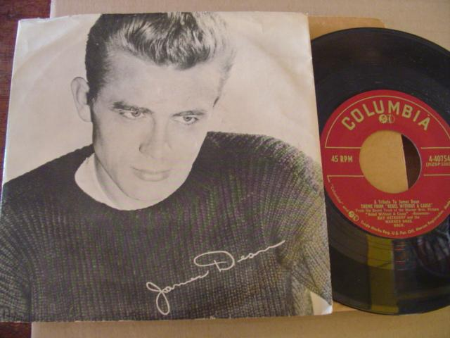 RAY HEINDORF - TRIBUTE JAMES DEAN - COLUMBIA PS { 610