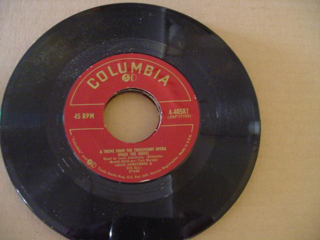 LOUIS ARMSTRONG - COLUMBIA 40587 { 602