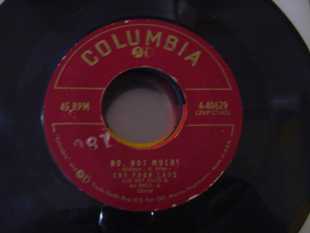 THE FOUR LADS - COLUMBIA 40629 { 641