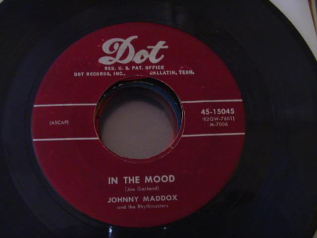 JOHNNY MADDOX - IN THE MOOD - DOT 15045 - { 642