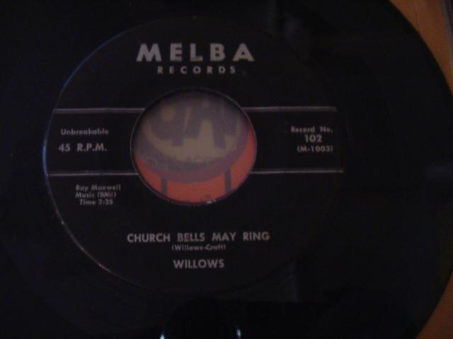 WILLOWS - MELBA RECORDS 102 { 658