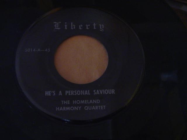 HOMELAND HARMONY QUARTET - LIBERTY 5014 { 660