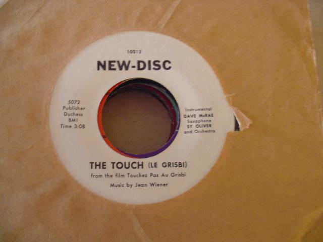 BETTY JOHNSON - THE TOUCH - NEW DISC 10012 { 609