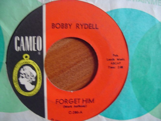 BOBBY RYDELL - FORGET HIM - CAMEO 280