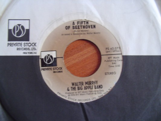 WALTER MURPHY - BIG APPLE - FIFTH BEETHOVEN - PRIVAT STOCK
