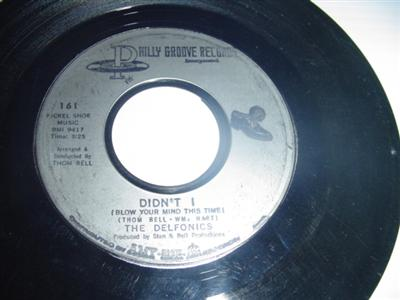 THE DELFONICS - DIDN'T I - PHILLY GROOVE { 2097