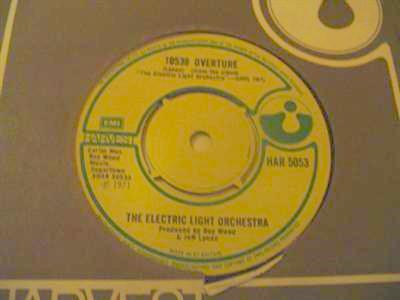 ELECTRIC LIGHT ORCHESTRA - 10538 OVERTURE - HARVEST { 2070