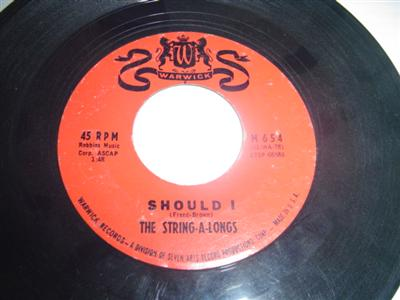 THE STRING - A - LONGS - SHOULD I - WARWICK { 2046